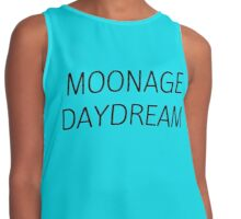 MOONAGE DAYDREAM #BOWIE Contrast Tank