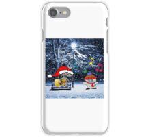 Cats Sing Christmas Carols iPhone Case/Skin