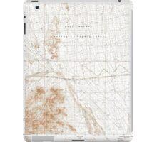 USGS TOPO Map California CA Blind Hills 100319 1984 24000 geo iPad Case/Skin