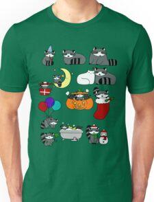 Raccoons! Unisex T-Shirt