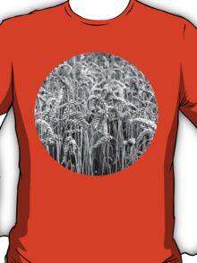 Black and White Wheat T-Shirt