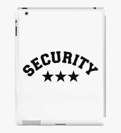 Security iPad Case/Skin