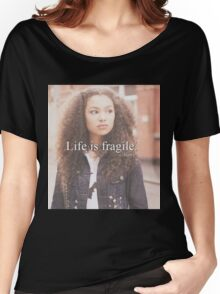 life is fragile Women's Relaxed Fit T-Shirt
