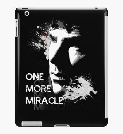 Sherlock - One More Miracle iPad Case/Skin