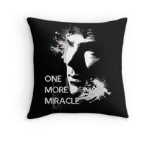 Sherlock - One More Miracle Throw Pillow