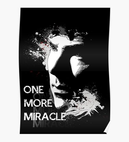 Sherlock - One More Miracle Poster