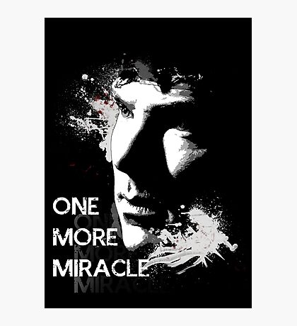 Sherlock - One More Miracle Photographic Print