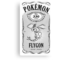 Pokemon Label Flygon Canvas Print