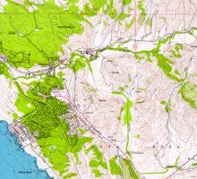 USGS TOPO Map California CA Cambria 100600 1959 24000 geo Sticker