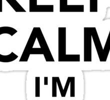 Keep calm I'm a thief Sticker