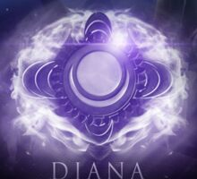 Diana Scorn of the Moon Sticker