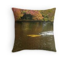 Rainbow Trout Autumn the Salmon Ponds, Tasmania Throw Pillow