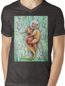 seahorse catfish  Mens V-Neck T-Shirt