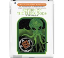 Cthulhu Your Own Adventure iPad Case/Skin