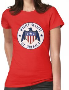 justice society of america Womens Fitted T-Shirt