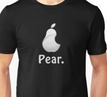 Pear. Technology Parody T-Shirt Logo Cases Tablet Computer Phone Unisex T-Shirt