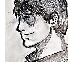 Travel sketch - the Outsider by Emme Gray