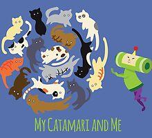 My Catamari and Me by littlebearart