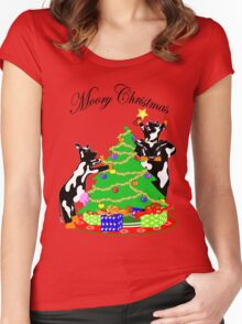 Moory Christmas Women's Fitted Scoop T-Shirt