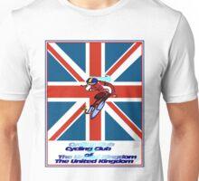 CYCLING CLUB; of The United Kingdom Print Unisex T-Shirt