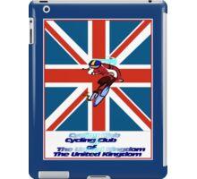 CYCLING CLUB; of The United Kingdom Print iPad Case/Skin