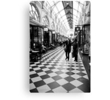 chequered Canvas Print