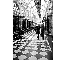 chequered Photographic Print