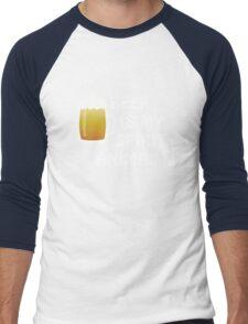 Beer is My Spirit Animal T-Shirt Men Women Men's Baseball ¾ T-Shirt