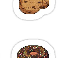 Pixel Chocolate Desserts Sticker Set Sticker