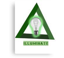 Illuminate/Illuminati Canvas Print