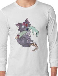 Rufus zombie dog Long Sleeve T-Shirt