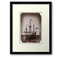 Duyfken Replica Framed Print