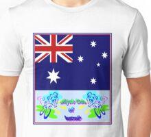 BICYCLE CLUB; of Australia Print Unisex T-Shirt