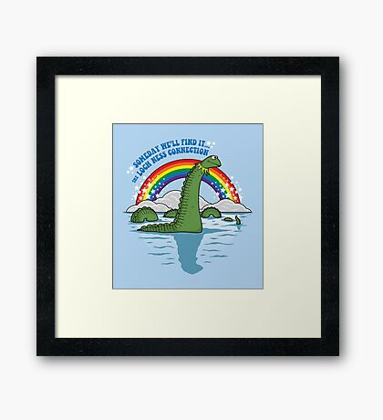 The Lochness Connection Framed Print