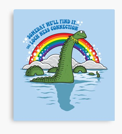The Lochness Connection Canvas Print