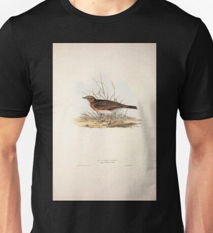 John Gould The Birds of Europe 1837 V1 V5 135 Richard's Pipit Unisex T-Shirt