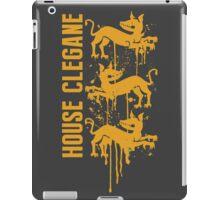 Clegane House Game of Thrones Shirt iPad Case/Skin
