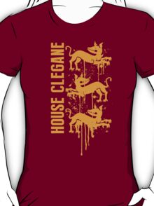 Clegane House Game of Thrones Shirt T-Shirt