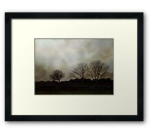 Otherwise inclined Framed Print