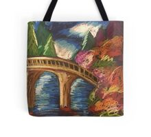 Oil Bridge Tote Bag