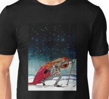 Prince Skiing into Night Unisex T-Shirt