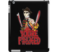 Slasher Mash (NSFW) iPad Case/Skin