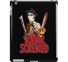 Slasher Mash (SFW) iPad Case/Skin