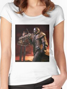 Fallout New Vegas NCR Ranger Women's Fitted Scoop T-Shirt