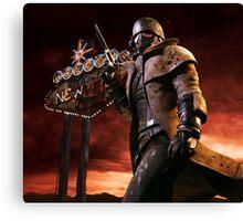 Fallout New Vegas NCR Ranger Canvas Print