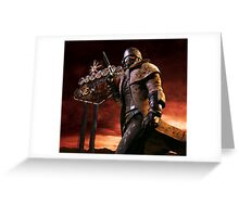 Fallout New Vegas NCR Ranger Greeting Card