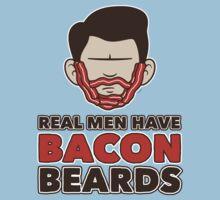 Bacon Beard (men's version) One Piece - Short Sleeve