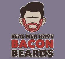 Bacon Beard (men's version) Kids Clothes