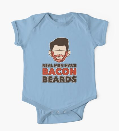 Bacon Beard (men's version) Kids Clothes
