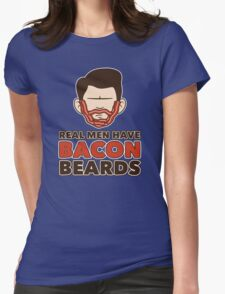 Bacon Beard (men's version) Womens Fitted T-Shirt